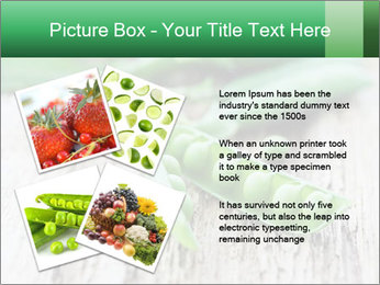 Young fresh juicy pods PowerPoint Templates - Slide 23
