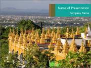 Mandalay hill PowerPoint Templates