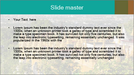 Mandalay hill PowerPoint Template - Slide 2