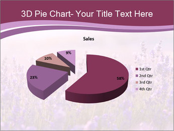 Lavender flowers PowerPoint Templates - Slide 35