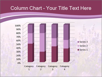 Lavender flowers PowerPoint Templates - Slide 50