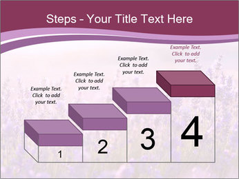 Lavender flowers PowerPoint Templates - Slide 64