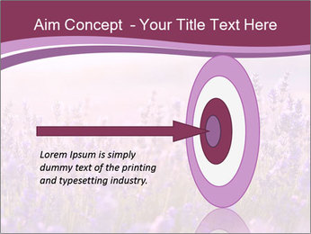 Lavender flowers PowerPoint Templates - Slide 83