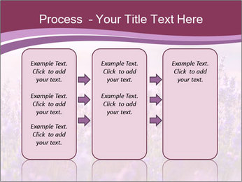 Lavender flowers PowerPoint Templates - Slide 86
