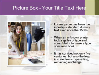 Fashion designer working PowerPoint Templates - Slide 13