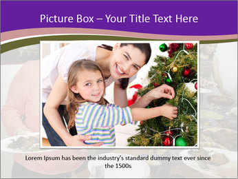 Wman holding a plate of food PowerPoint Template - Slide 15