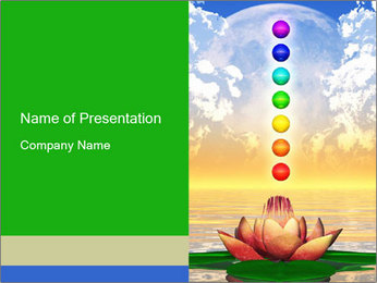 Holy Lotus PowerPoint Templates - Slide 1