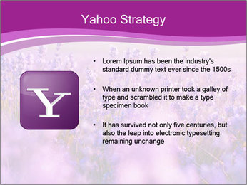 Lavender Field PowerPoint Template - Slide 11