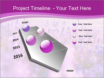 Lavender Field PowerPoint Template - Slide 26