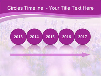 Lavender Field PowerPoint Template - Slide 29