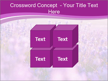 Lavender Field PowerPoint Template - Slide 39