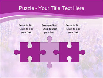 Lavender Field PowerPoint Template - Slide 42