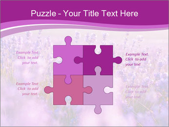 Lavender Field PowerPoint Template - Slide 43