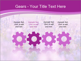 Lavender Field PowerPoint Template - Slide 48