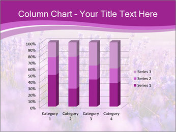 Lavender Field PowerPoint Template - Slide 50