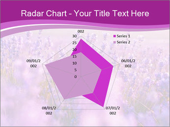 Lavender Field PowerPoint Template - Slide 51