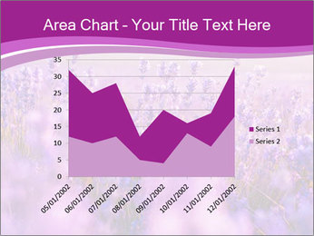 Lavender Field PowerPoint Template - Slide 53