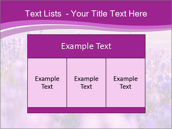 Lavender Field PowerPoint Template - Slide 59