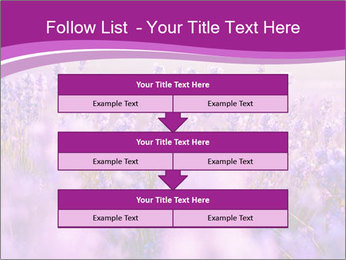 Lavender Field PowerPoint Template - Slide 60