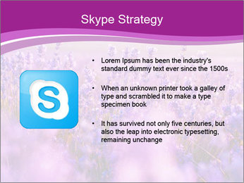 Lavender Field PowerPoint Template - Slide 8