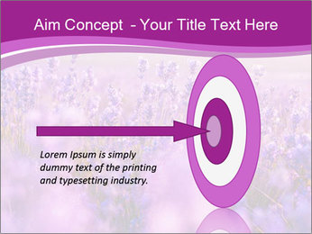 Lavender Field PowerPoint Template - Slide 83