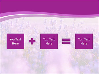 Lavender Field PowerPoint Template - Slide 95