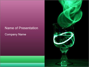 Party drink PowerPoint Template - Slide 1