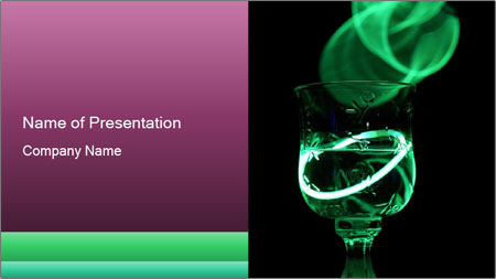 Party drink PowerPoint Template