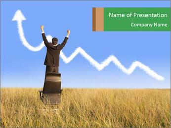 Businessman PowerPoint Template - Slide 1