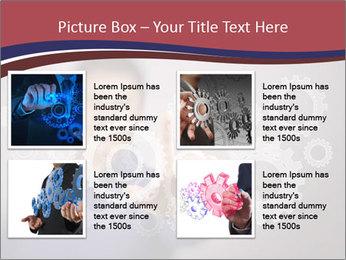 Colour wheels PowerPoint Template - Slide 14