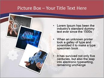 Colour wheels PowerPoint Template - Slide 17