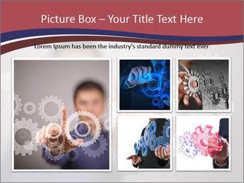 Colour wheels PowerPoint Template - Slide 19