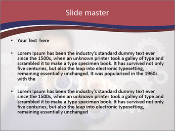 Colour wheels PowerPoint Template - Slide 2