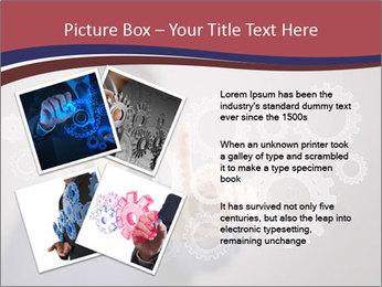 Colour wheels PowerPoint Template - Slide 23