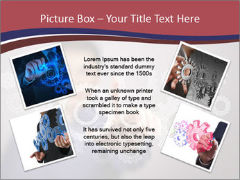 Colour wheels PowerPoint Template - Slide 24