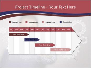 Colour wheels PowerPoint Template - Slide 25