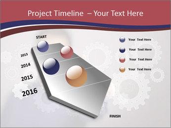 Colour wheels PowerPoint Template - Slide 26