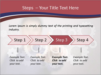 Colour wheels PowerPoint Template - Slide 4