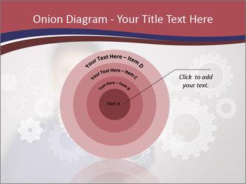 Colour wheels PowerPoint Template - Slide 61