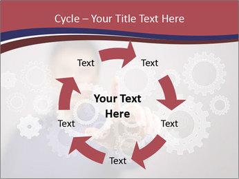 Colour wheels PowerPoint Template - Slide 62