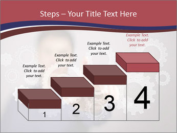 Colour wheels PowerPoint Template - Slide 64