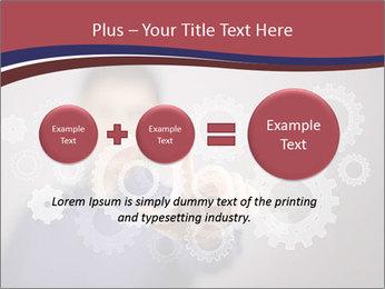 Colour wheels PowerPoint Template - Slide 75