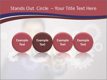 Colour wheels PowerPoint Template - Slide 76