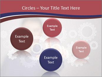 Colour wheels PowerPoint Template - Slide 77