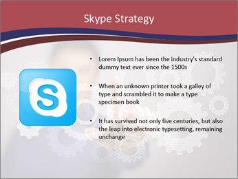 Colour wheels PowerPoint Template - Slide 8