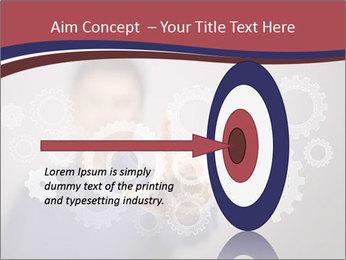 Colour wheels PowerPoint Template - Slide 83