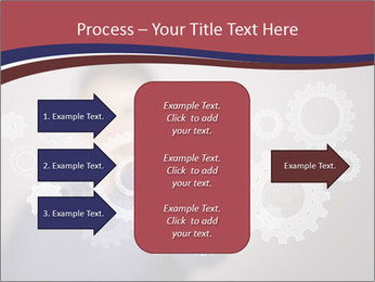 Colour wheels PowerPoint Template - Slide 85