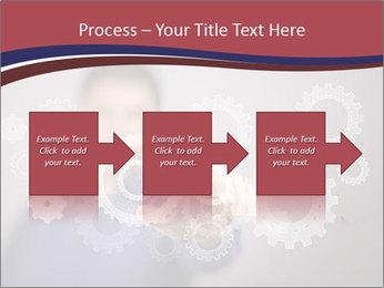 Colour wheels PowerPoint Template - Slide 88