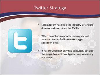Colour wheels PowerPoint Template - Slide 9