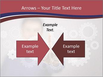 Colour wheels PowerPoint Template - Slide 90